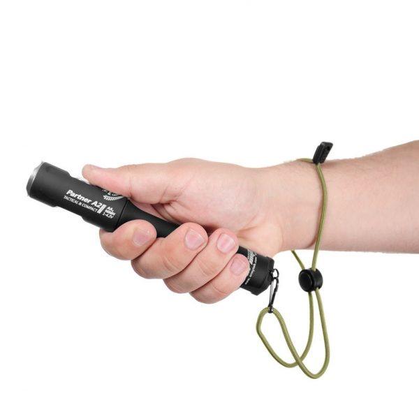Тактический фонарь Armytek Partner A2 Pro v3 XP-L (тёплый свет) 2