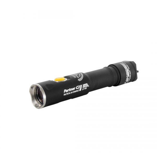 Тактический фонарь Armytek Partner C2 Pro v3 XP-L (белый свет) 1