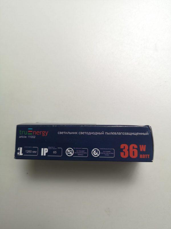 Светильник светодиодный пылевлагозащищенный TruEnergy, 18W/36W, 4000К IP65 43 мм. 13
