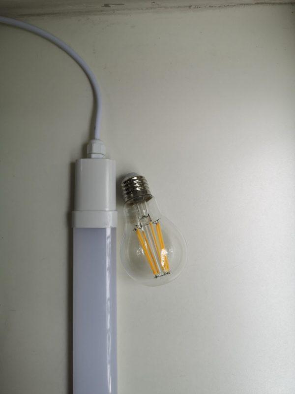 Светильник светодиодный пылевлагозащищенный TruEnergy, 18W/36W, 4000К IP65 43 мм. 6