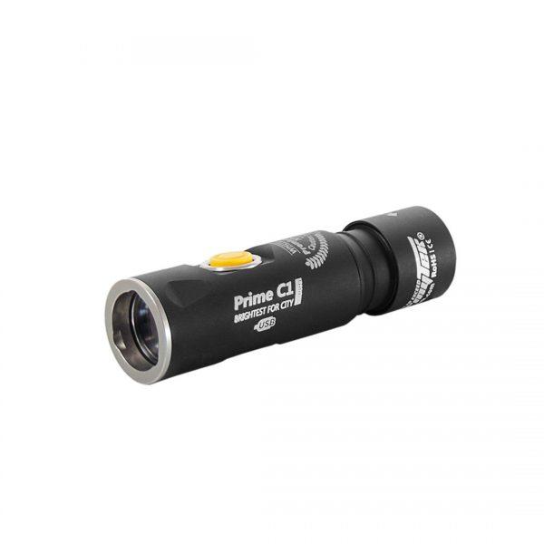 Карманный фонарь Armytek Prime C1 Pro XP-L Magnet USB (теплый свет) + 18350 Li-Ion 1