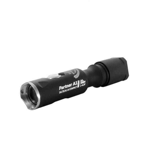 Тактический фонарь Armytek Partner A1 Pro v3 XP-L (белый свет) 1