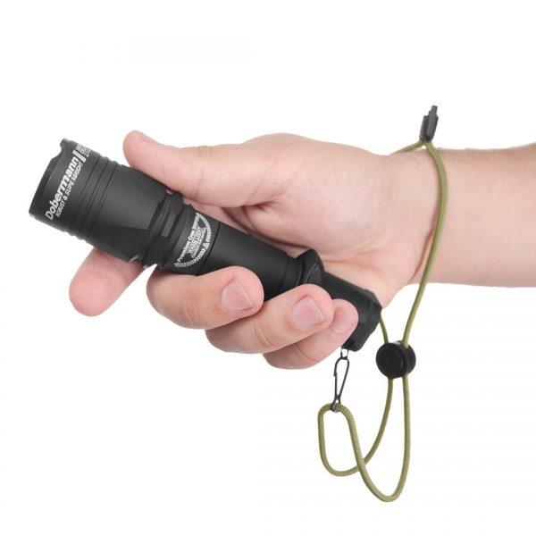 Тактический фонарь Armytek Dobermann Pro XHP35 HI (белый свет) 2