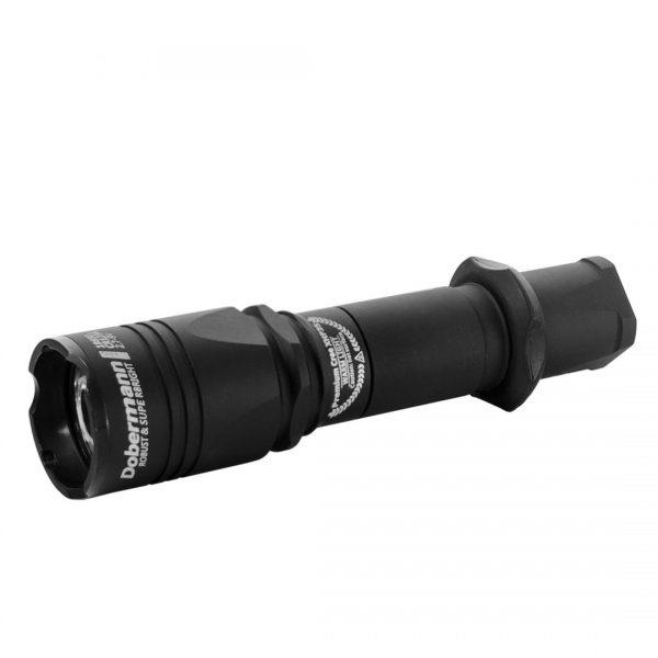 Тактический фонарь Armytek Dobermann Pro XHP35 HI (белый свет) 1