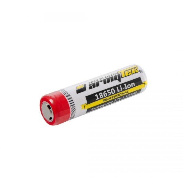 Аккумулятор Armytek Li-Ion 18650 3400 мАч 2