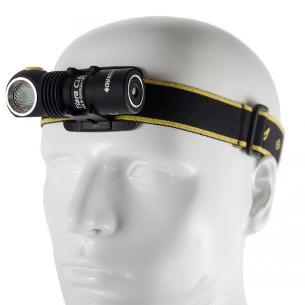 Налобный фонарь Armytek Tiara C1 Pro XP-L Magnet USB (теплый свет) + 18350 Li-Ion 2
