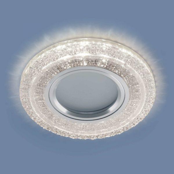 Встраиваемый точечный светильник с LED подсветкой 2225 MR16 CL прозрачный 2