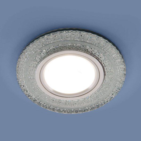 Встраиваемый точечный светильник с LED подсветкой 2225 MR16 CL прозрачный 5