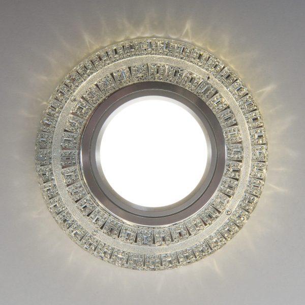 Встраиваемый точечный светильник с LED подсветкой 2225 MR16 CL прозрачный 6