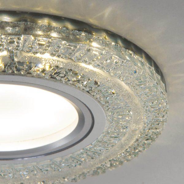 Встраиваемый точечный светильник с LED подсветкой 2225 MR16 CL прозрачный 8