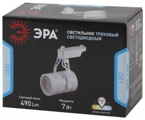 Трековый Светильник ЭРА 7Вт белый
