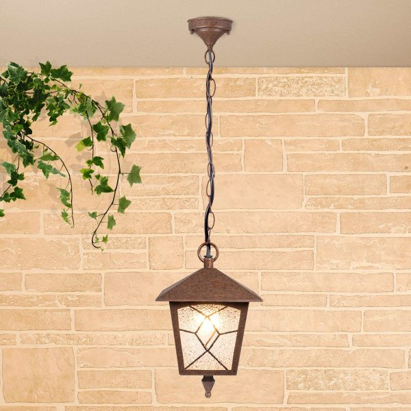 Lyra H брауни уличный подвесной светильник