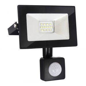 Прожектор светодиодный с датчиком движения и освещенности