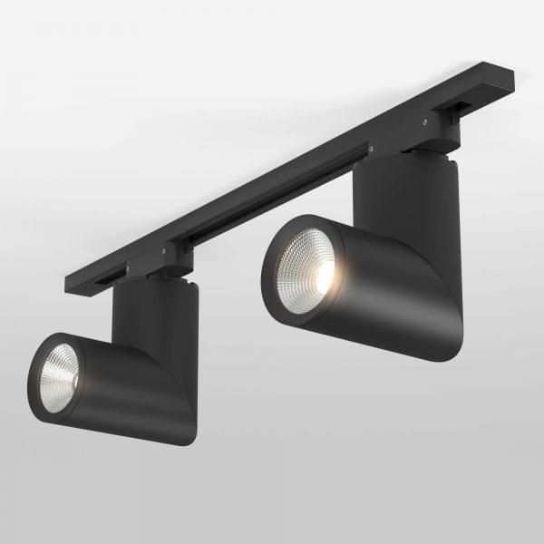 Трековый светильник в наличии и под заказ черный