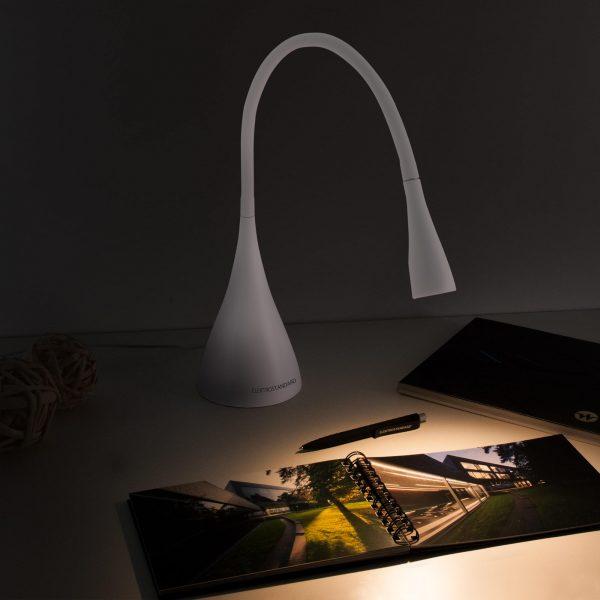 Настольный светодиодный светильник Lola белый матовый TL80990 3
