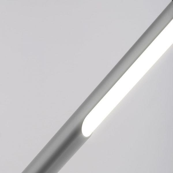Настольный светодиодный светильник Vara серебро