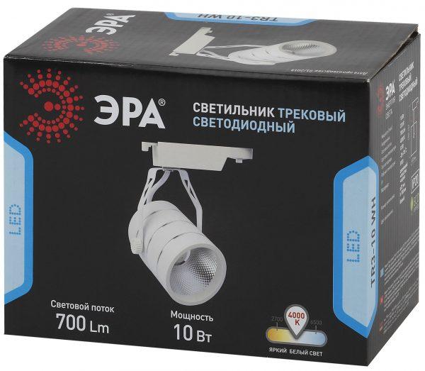 Трековый Светильник ЭРА 10Вт белый COB