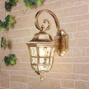 Dorado D черное золото уличный настенный светильник
