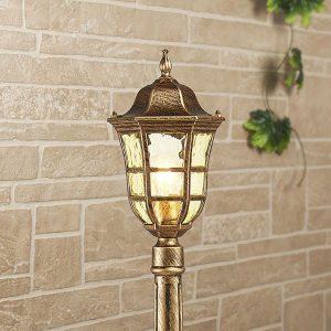 Dorado F черное золото уличный светильник на столбе IP44