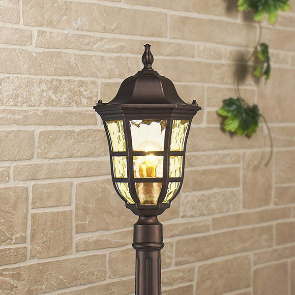 Dorado F кофейное золото уличный светильник на столбе IP44