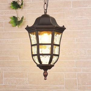 Dorado H кофейное золото уличный подвесной светильник