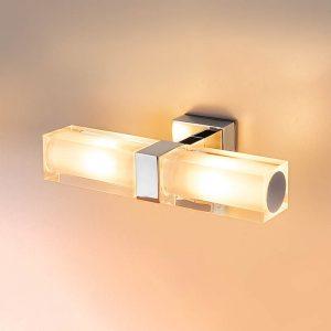 Duplex 2x28W хром Влагостойкий настенный светильник