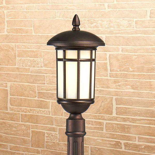 Lepus F кофейное золото уличный светильник на столбе IP44 GL 1016F 1