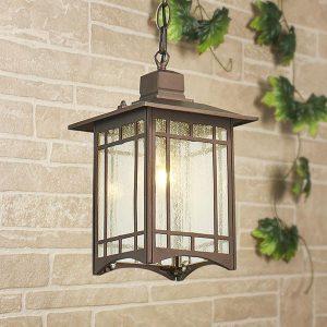 Vela H кофейное золото уличный подвесной светильник Артикул: GL 1019H