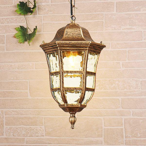 Dorado H черное золото уличный подвесной светильник GL 1013H 1