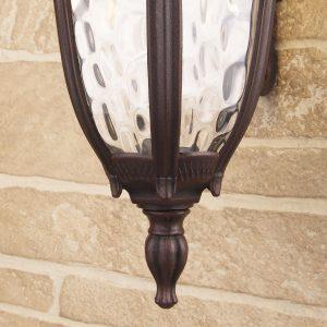 Draco D капучино уличный настенный светильник
