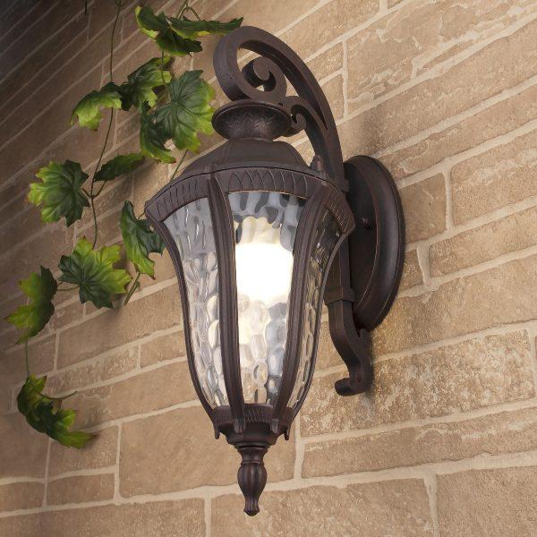 Draco D капучино уличный настенный светильник GL 1010D 1