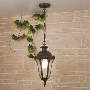 Draco H капучино уличный подвесной светильник