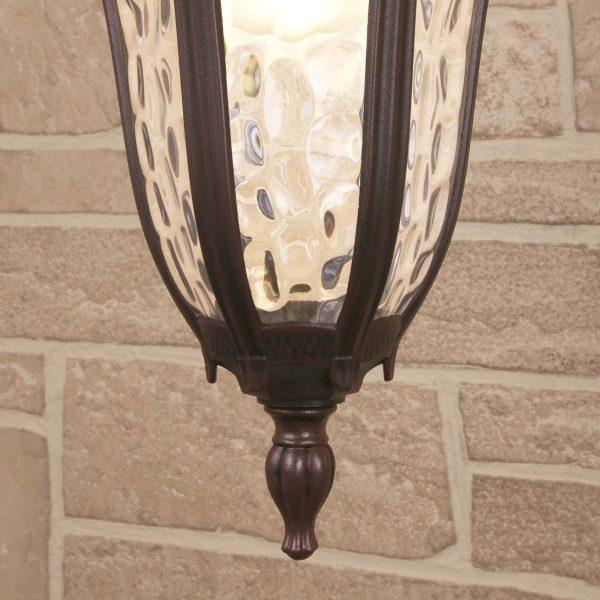 Draco H капучино уличный подвесной светильник GL 1010H 1