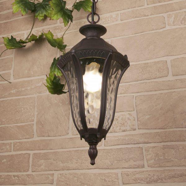Draco H капучино уличный подвесной светильник GL 1010H 2