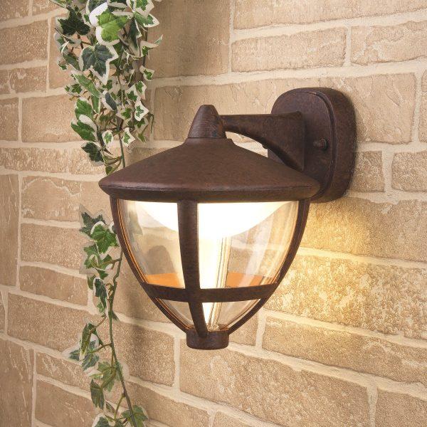 Gala D брауни уличный настенный светодиодный светильник