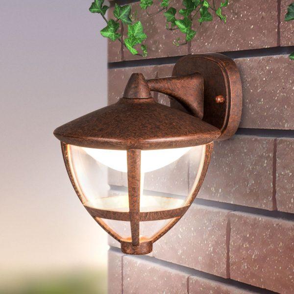 Gala D брауни уличный настенный светодиодный светильник GL LED 3001D 1