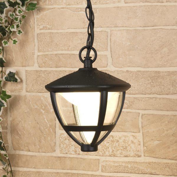 Gala H черный уличный светодиодный подвесной светильник