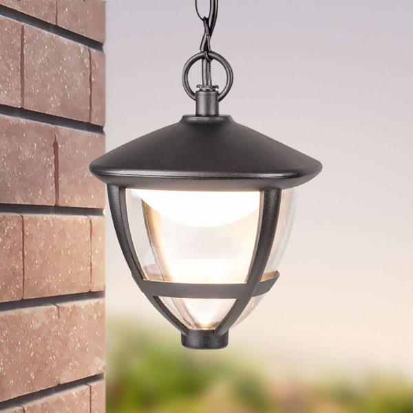 Gala H черный уличный светодиодный подвесной светильник GL LED 3001H 2