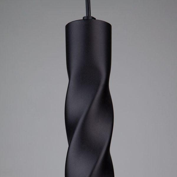 Накладной потолочный светодиодный светильник 50136/1 LED черный 2
