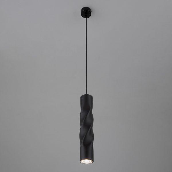 Накладной потолочный светодиодный светильник 50136/1 LED черный 5
