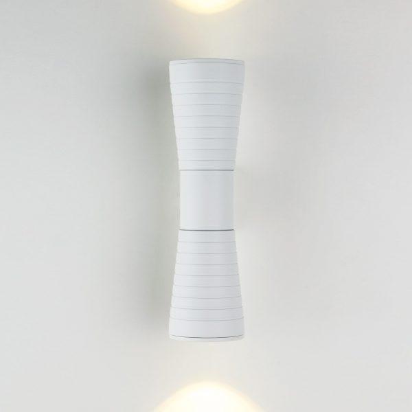 Tube double белый уличный настенный светодиодный светильник
