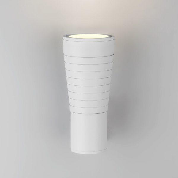 Tube uno белый уличный настенный светодиодный светильник