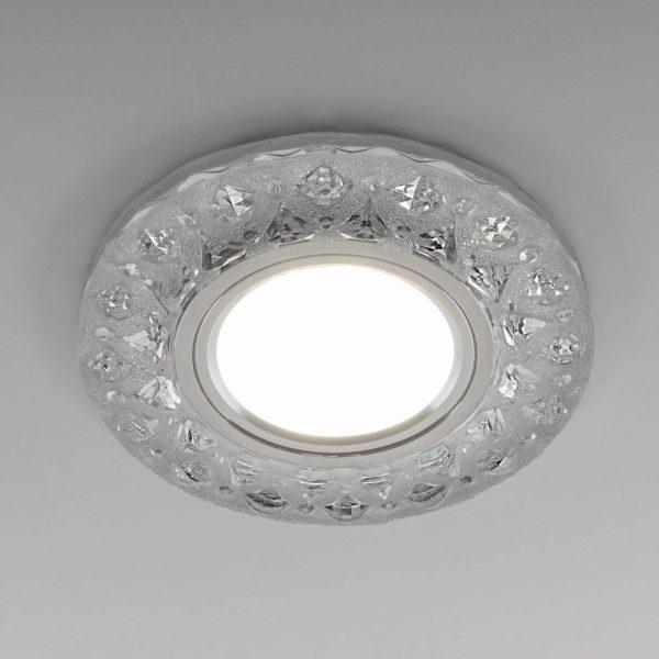 Встраиваемый точечный светильник с LED подсветкой 2222 MR16 CL прозрачный 3