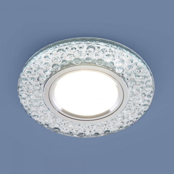 Встраиваемый точечный светильник с LED подсветкой 2224 MR16 CL прозрачный 1