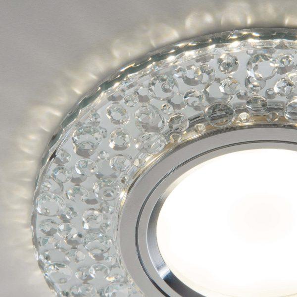 Встраиваемый точечный светильник с LED подсветкой 2224 MR16 CL прозрачный 3