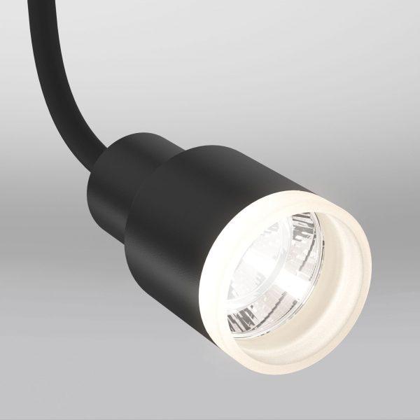 Трековый светодиодный светильник для однофазного шинопровода Molly Flex Черный 7W 4200K LTB38 2