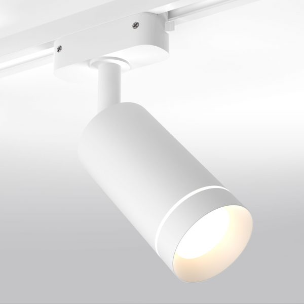 Трековые светильники купить белые