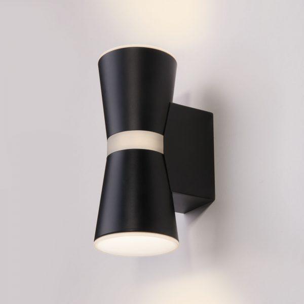 Viare LED черный настенный светодиодный светильник