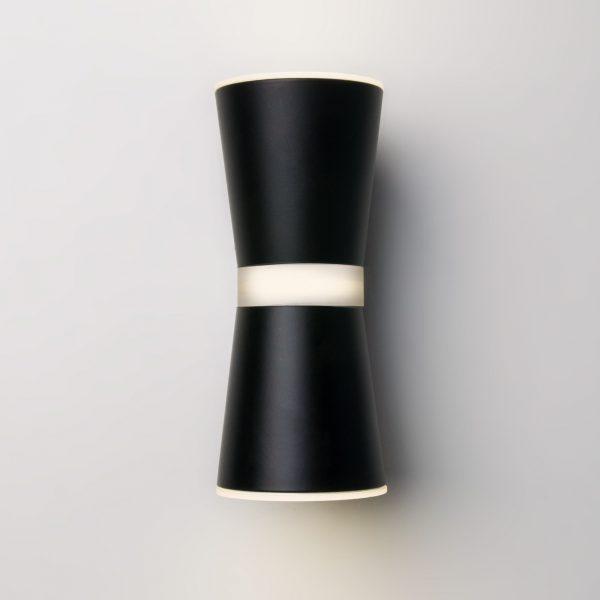 Настенный светильник купить черного цвета