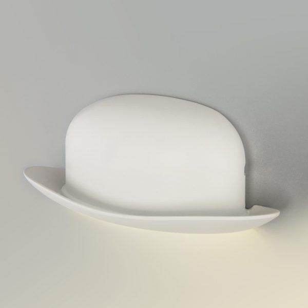 Настенный светильник накладной в форме шляпы для идеального антуража интерьера купить